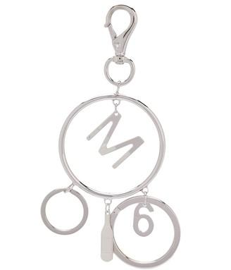 MM6 MAISON MARGIELA Logo Charm Keyring