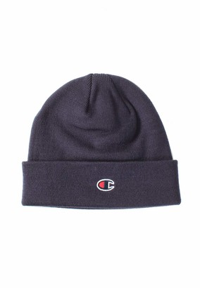 Champion Rochester Beanie Cap Logo Navy - One Size UK
