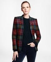Brooks Brothers Plaid Wool Tweed Hacking Jacket