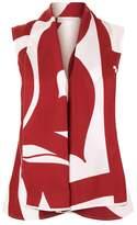 Victoria Beckham Printed Silk Blouse