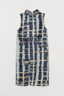 H&M Satin Dress - Turquoise