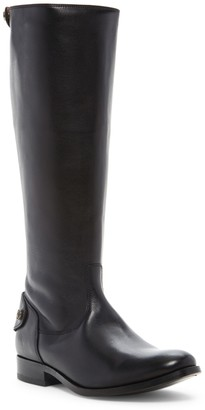 Frye Melissa Button Back Zip Boot - Wide Calf Available