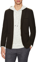 Vince Deconstructed Wool Patch Pocket Blazer