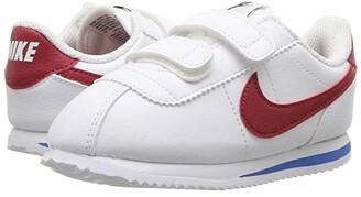 Nike Kids Cortez Basic SL (Infant/Toddler) (White/Varsity Red/Varsity Royal/Black) Boys Shoes