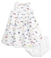Stella McCartney Infant Girl's Flossie Name Print Dress