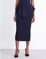 Antonio Berardi High-rise stretch-crepe pencil skirt