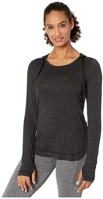Jockey Active Everyday Long Sleeve Hoodie (Deep Black) Women's Sweatshirt