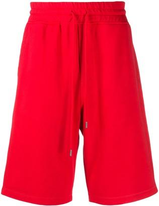 Woolrich Cotton Drawstring Track Shorts