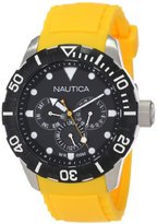 Nautica Unisex N13644G NSR 101 Multi- South Beach Classic Analog with Enamel Bezel Watch