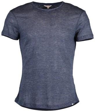 Orlebar Brown Navy OB-T Linen Melange T-Shirt