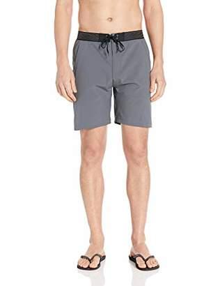 "Hurley Men's Elastic Waist 18"" inch Phantom Alpha Trainer Gym Short"