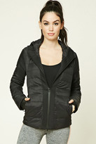 Forever 21 FOREVER 21+ Active Hooded Puffer Jacket