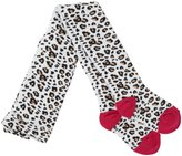 Country Kids Animal Print Tights (Baby)-Snow Leopard-12-24 Months