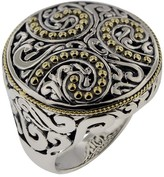 Effy Jewelry Effy 925 Sterling Silver & 18K Gold Ring