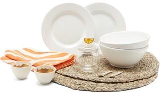 Summerill & Bishop - Breakfast For Two Tableware Set - Orange Multi