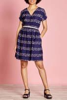 Yumi Swimming Stripe Dress