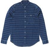 Denham Gingham Check Shirt, Indigo