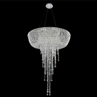 Allegri By Kalco Lighting Cascata 8-Light Unique / Statement Tiered Chandelier by Kalco Lighting