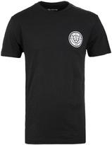 True Religion Interlock Horseshoe True Black Crew Neck T-shirt