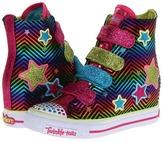 Skechers Twinkle Talls - Gimme - 4 Upz 83632L (Toddler/Little Kid/Big Kid) (Multi) - Footwear