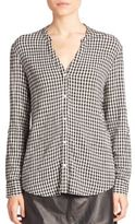 Soft Joie Joie Dane Plaid Button-Down Blouse