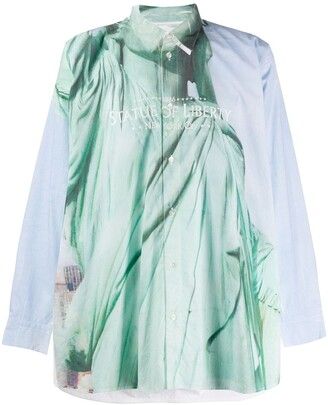 Doublet Statue of Liberty shirt