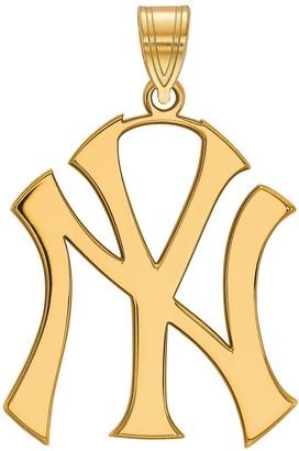 New York Yankees LogoArt Sterling Silver Pendant