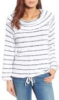 Caslon Convertible Off the Shoulder Pullover (Regular & Petite)