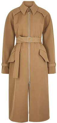 Acne Studios Octavia camel twill trench coat