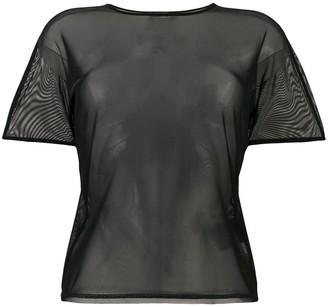 Y-3 mesh logo T-shirt