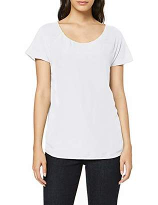 S'Oliver BLACK LABEL Women's 11.908.32.7656 T-Shirt, Blue Blue 5959, 18 (Size: )