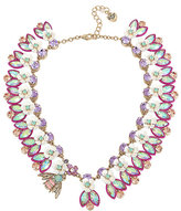 Betsey Johnson Buzz Off Bee And Flower Collar