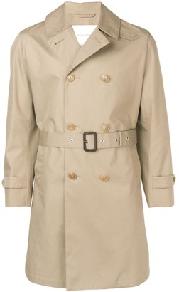 MACKINTOSH Storm System cotton short trench coat