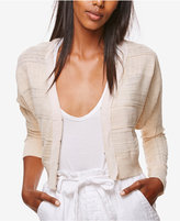 Free People Textured Cropped Cardigan