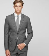 Reiss Reiss Bronson B - Slim Wool Blazer In Grey, Mens