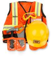 Melissa & Doug Toddler 'Construction Worker' Personalized Costume Set