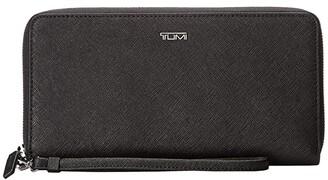 Tumi Belden Travel Wallet (Black 1) Wallet Handbags