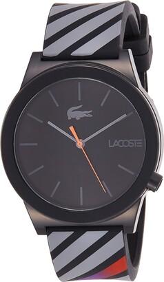 Lacoste Men's 2010936 Motion Analog Display Quartz Black Watch