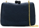 Serpui - woven straw clutch - women - Straw - One Size