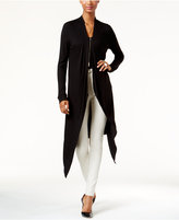 INC International Concepts Asymmetrical Duster Cardigan, Only at Macy's