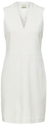 Selected Adelyn Slim Fit Dress - 34 / Birch - White