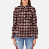 Levi's Women's Modern Western Shirt Cottonwood Merlot