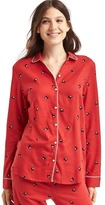 Gap Flannel long sleeve sleep shirt