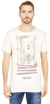 Buffalo David Bitton Tonew Tee (White) Men's Clothing