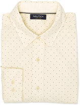 Nautica Men's Dot-Print Long-Sleeve Shirt