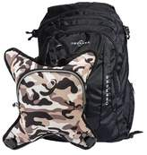 Obersee Bern Diaper Bag Backpack with Detachable Cooler (Black/ Camo)