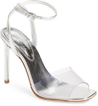 Schutz Jamili Clear Ankle Strap Sandal
