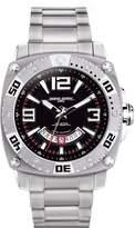 Jorg Gray Solid Stainless Steel Bracelet Dial Men's watch #JG9800-21