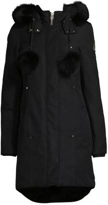 Moose Knuckles Stirling Fox Fur-Trim Parka