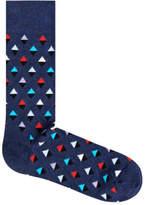 Happy Socks NEW Mini Diamond Navy/ Red/ White Navy